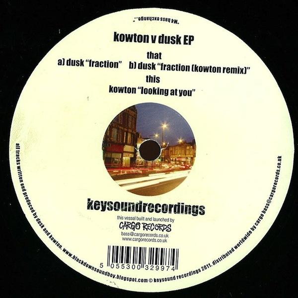 Kowton v Dusk EP (Keysound Recordings)