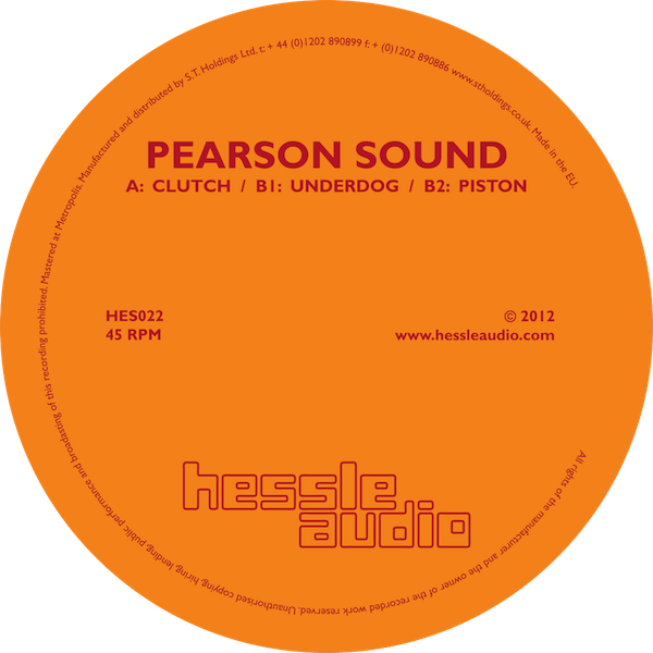 Pearson Sound - Clutch (Hessle Audio)